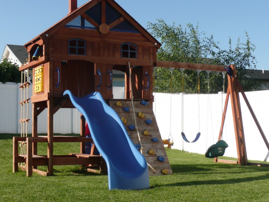 Backyard Playground - Backyard Playground Top Notch Turf Kalispell, MT